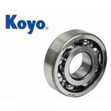 8 mm x 15 mm x 17.5 mm  8 mm x 15 mm x 17.5 mm  KOYO SESDM 8 linear bearings
