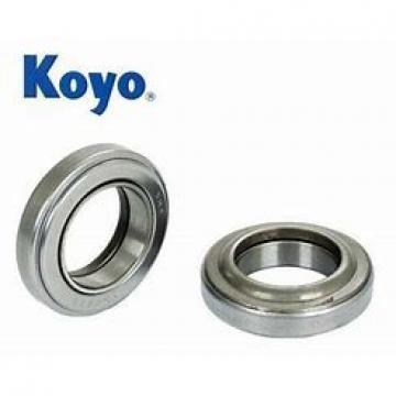 7 mm x 22 mm x 7 mm  7 mm x 22 mm x 7 mm  KOYO 3NC627HT4 GF deep groove ball bearings