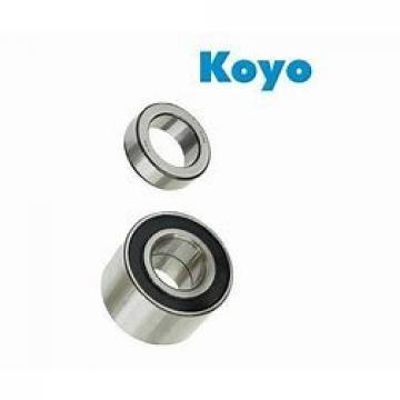 2 mm x 7 mm x 2,8 mm  2 mm x 7 mm x 2,8 mm  KOYO 602 deep groove ball bearings