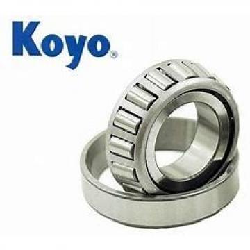 1,5 mm x 6 mm x 3 mm  1,5 mm x 6 mm x 3 mm  KOYO WML1506ZZX deep groove ball bearings