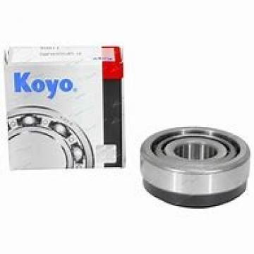 26,988 mm x 62 mm x 20,638 mm  26,988 mm x 62 mm x 20,638 mm  KOYO 15106/15245 tapered roller bearings